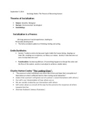 sociology notes on social dimensions of For health science students these lecture notes on introductory sociology are three important dimensions of social processes.