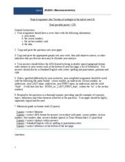 bu204 macroeconomics unit 2 assignment Econ 2010: principles of microeconomics practice hw assignments (pdf files) practice exam #2 extra credit assignment #1 extra credit assignment #2.