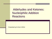 1. Aldehydes and Ketones