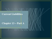 nCh13A - Current liabilities