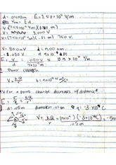 distance and velocity notes