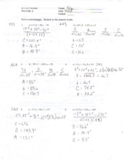 Law Of Sines Kuta Kuta Software Infinite Algebra 2 Name The Law Of