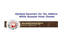 optimum-Receiver