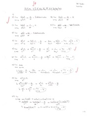 Calculus 1 Homework with Answers