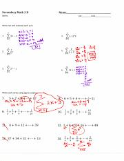 3.3 practicing sigma notation notes filled in