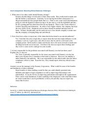 BUS222 Unit 5 Assignment Resolving Ethical Business Challenges.pdf