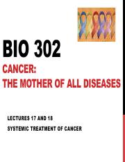 BIO 302. Lectures 17 and 18. Systemic therapy.pdf