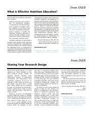 Sharing your research design