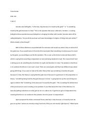 Porter - PHIL140 essay - Graded with Comments.docx