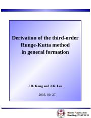 JHThird_order_RK_derivation