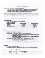 07_AP Bio Midterm Review Packet