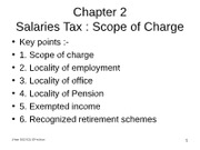 File 02A ppt Chapter 02 - salaries tax (scope)