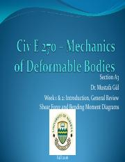 Civ E 270 F2016 Week 1 and 2-Dr. Gul - Notes.pdf
