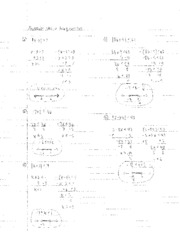 even inequalities notes