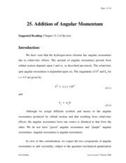 pchemII.lecture25.Addition_of_Angular_Momentum