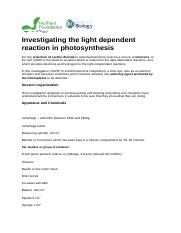 Investigating the light dependent reaction in photosynthesis_DCPIP (1).docx