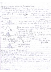 Statistics_ Normal Distribution Notes