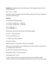 Limiting Answer Key.pdf - Chemistry Worksheet: Limiting Reactant ...