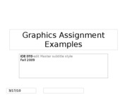 Graphics+Assignment+Examples
