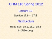 10 CHM116A Lecture 10-Student (revised)