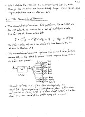 ECE 361 Convention of Receiver Notes