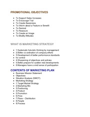 Principles of Marketing -Promotion