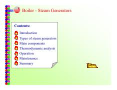 Ch3 Steam Boiler - Sub-critical