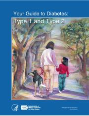 Guide To Diabetes PDF