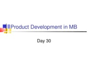 Day 30 - New Products revised.ppt