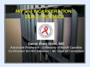 Course Incarc and HIV