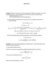 CHM 341 Problem Set 1 Fall 2012