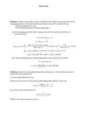 CHM 341 Problem Set 1 Fall 2012