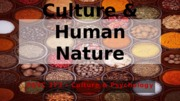 PSYC373-Lecture3-Sep1-Ch2-Culture&HumanNature-OUTLINE.pptx