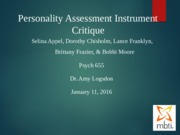 Week 4 Personality Assessment Instrument Critique (1) (1) (5)