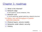 Lecture 1 - Intro to Networking1