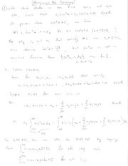 Matrix Algebra Homework 6 Solutions