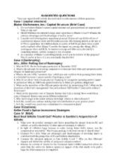 blaine kitchenware inc capital structure case study