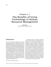 The-Benefits-of-Using-Technology-in-Human-Resource-Management