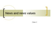 news values ppt