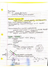 ECO284 Final Exam Review Notes