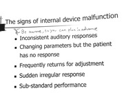 Signs of Device Failure & Remapping