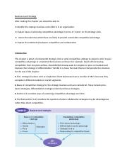 1 - Business Level Strategy (1).docx