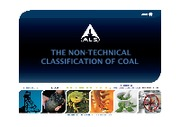 Carbonisation 11 - The Non-technical Classification of Coal