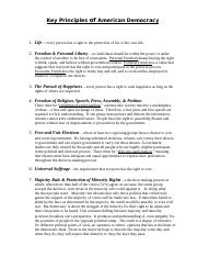 Key Principles of American Democracy & Functions of Govt..doc