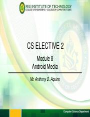 Module 8 - Android Media