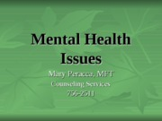 Kine 250 class Mental Health Issues 2nd edition