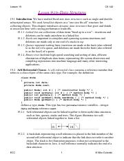 Lesson 19--Data Structures (2)