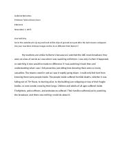 essay 1 enc 1101 View essay - enc 1101 narrative from english 1101 at seminole state college  of florida enc 1101 writing assignment #1 (narrative essay) first, choose a.
