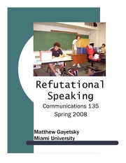RefutationalSpeakingReading