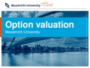 Option Valuation 3